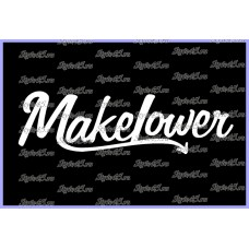 Наклейка Makelower