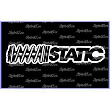 Наклейка Static