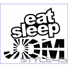 Наклейка Eat Sleep JDM (151)