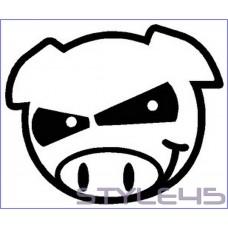 Наклейка JDM Pig (152)