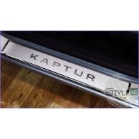 Наклейки на пороги Renault Kaptur 1