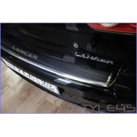 Наклейка на задний бампер Mitsubishi Lancer 10