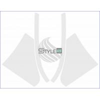 Наклейки антигравийные 5228A060, 5228A059, 5228A061, 5228A062 на заднюю арку для Mitsubishi Lancer 10