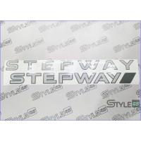 """Наклейка двери """"Renault Stepway"""""""