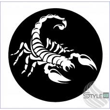 Наклейка Скорпион (83)