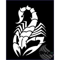 Наклейка Скорпион (59)