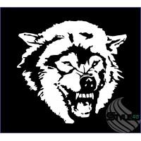 Наклейка Волк (66)
