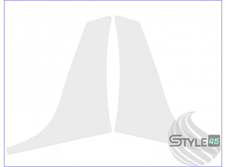 Наклейка антигравийная на заднюю арку Skoda Octavia A5
