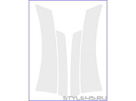 Наклейки антигравийные на заднюю арку и дверь для Toyota Avensis 2