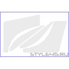 Наклейка антигравийная на заднюю дверь и арку для Toyota RAV4