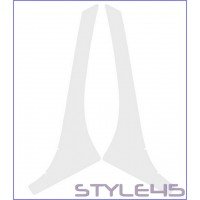 Наклейка антигравийная на заднюю арку Renault Logan 2