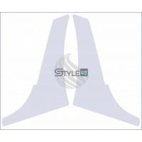 Наклейка антигравийная 1Z0807905E, 1Z0807906E на заднюю арку Skoda Octavia A5