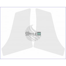 Наклейка антигравийная 5J7807905A, 5J7807906A на заднюю арку ( порог ) Skoda Roomster