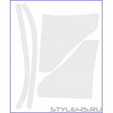 Наклейка антигравийная на заднюю арку для Mitsubishi Lancer 10