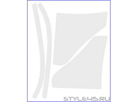 Наклейки антигравийные на заднюю арку для Mitsubishi Lancer 10