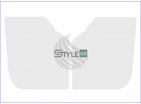 Наклейки антигравийные 84126H2000, 84116H2000 на заднюю арку (порог) Hyundai Solaris 2
