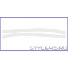 Наклейка антигравийная на заднюю арку для Toyota Camry 8
