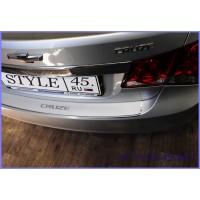 Наклейка на задний бампер для Chevrolet Cruze