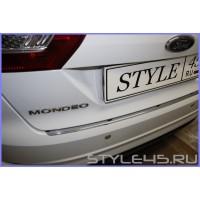 Наклейка на задний бампер для Ford Mondeo 4 Седан