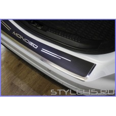 Наклейка на задний бампер для Ford Mondeo 4