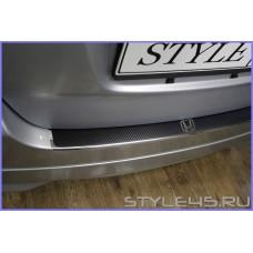Наклейка на задний бампер для Honda Fit , Honda Jazz