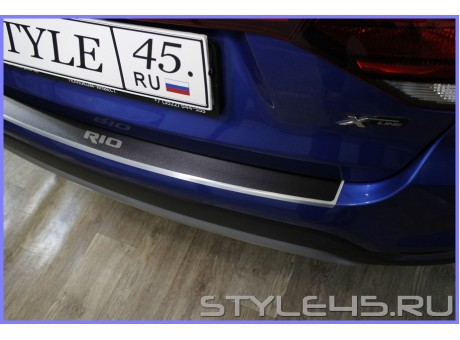 Наклейка на задний бампер для Kia Rio X-Line