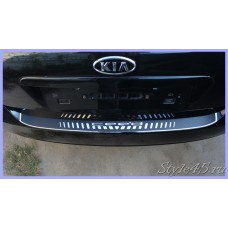 Наклейка на задний бампер для Kia cee'd ( Киа Сид )