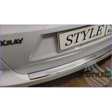 Наклейка на задний бампер  LADA Xray