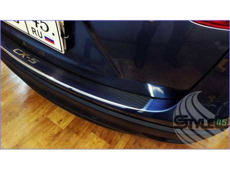 Наклейка на задний бампер Mazda CX-5