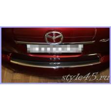 Наклейка на задний бампер для Mazda CX-7