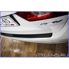 Наклейка на задний бампер для Mitsubishi ASX