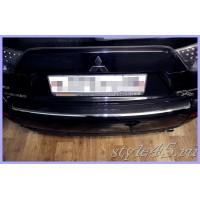 Наклейка на задний бампер для Mitsubishi Outlander 2