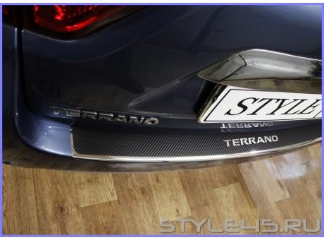 Наклейка на задний бампер для Nissan Terrano 3