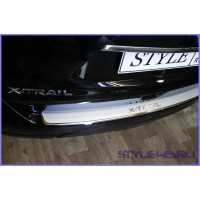 Наклейка на задний бампер для Nissan X-Trail 3
