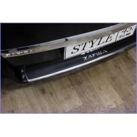 Наклейка на задний бампер для Opel Zafira 2