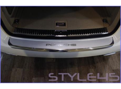 Наклейка на задний бампер для Porsche Cayenne 2