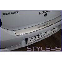 Наклейка на задний бампер для Renault Logan 2