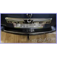 Наклейка на задний бампер для Renault Duster