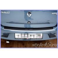 Наклейка на задний бампер для Renault Logan 1