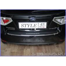Наклейка на задний бампер для  Subaru Impreza XV