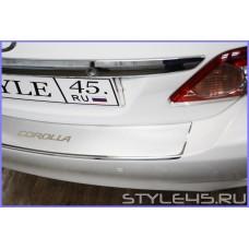 Наклейка на задний бампер для Toyota Corolla 10