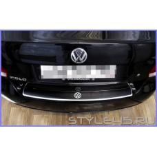 Наклейка на задний бампер для Volkswagen Polo 5