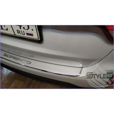Наклейка на задний бампер Kia Sorento (XM)