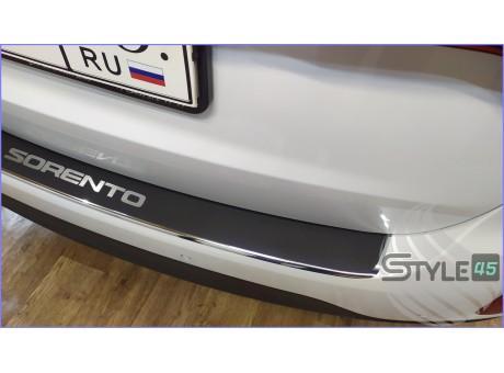 Наклейка на задний бампер Kia Sorento ( XM )