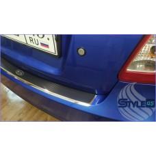 Наклейка на задний бампер Kia Rio 2
