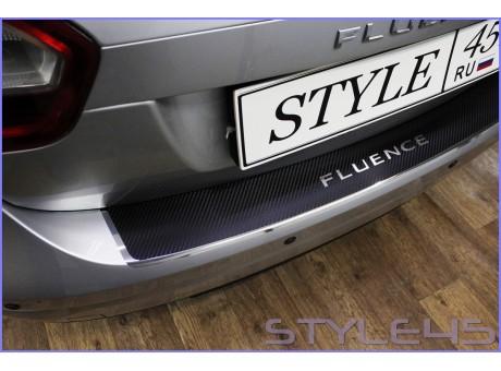 Наклейка на задний бампер для Renault Fluence