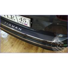 Наклейка на задний бампер Volkswagen Tiguan Mk 2