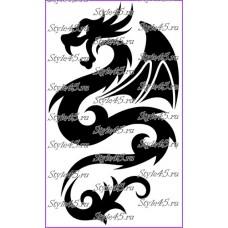 Наклейка Дракон (44)
