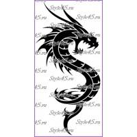 Наклейка Дракон (25)