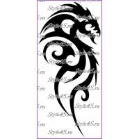 Наклейка Дракон (27)